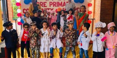 Pre-Primary Students' Community Helpers Day 2019